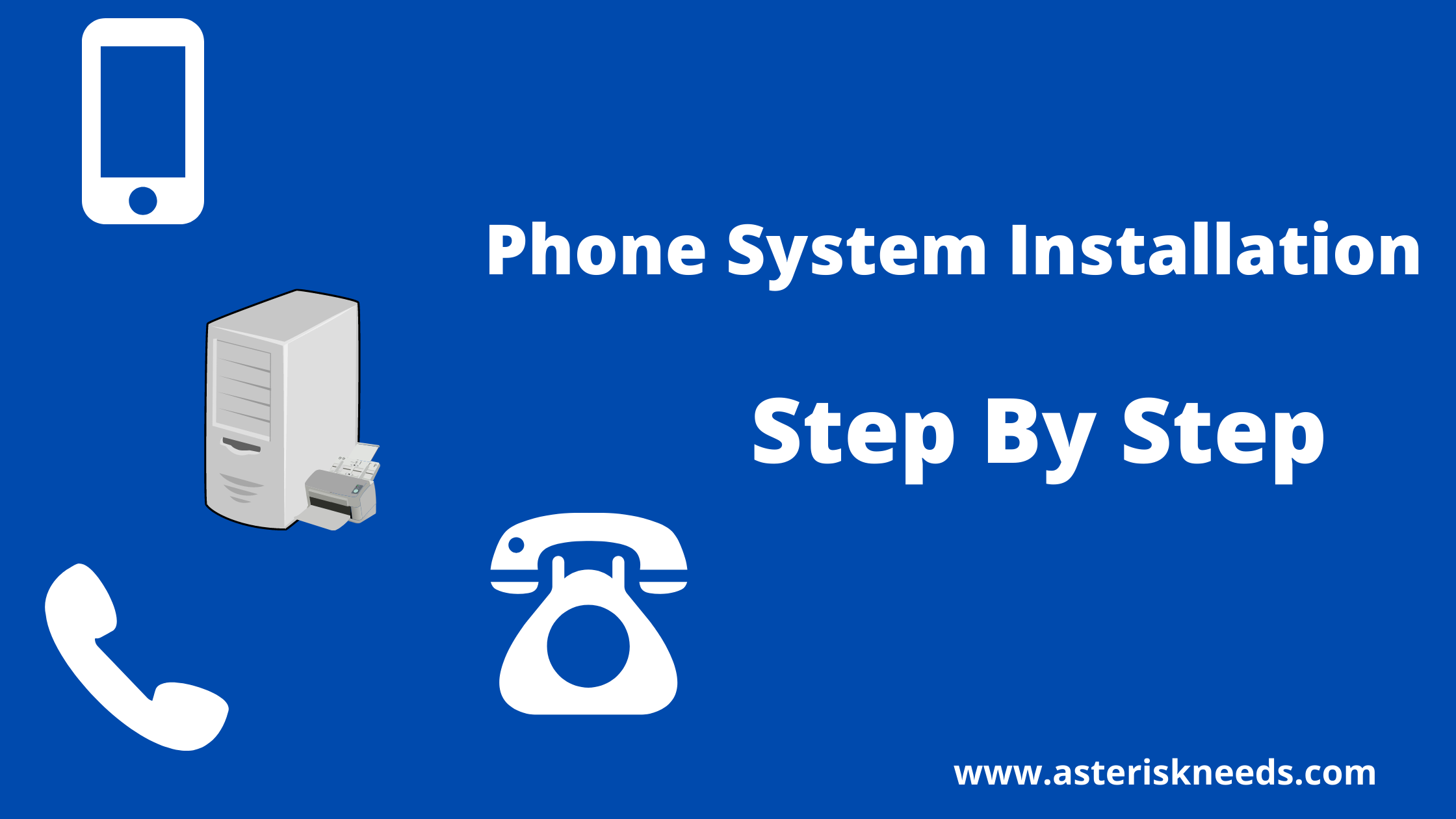 Building your own phone step by step installation
